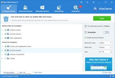 Wise Disk Cleaner 10.3.1.783 Crack With Keygen Full Download 2020