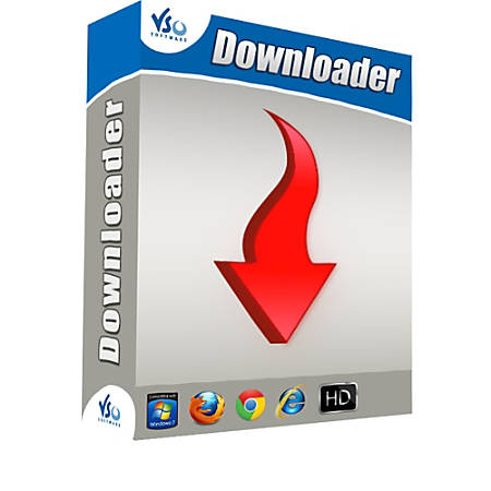 VSO Downloader 5.0.1.64 Crack With License Key Latest Version