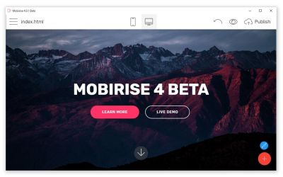 Mobirise 5.2.0 Crack With License Key Full Free Download 2020