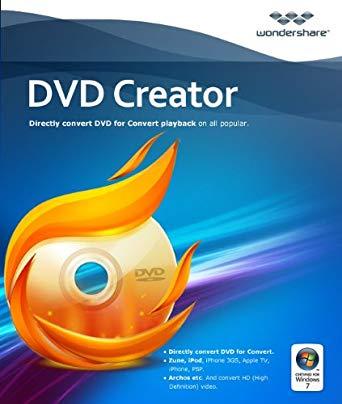 Wondershare DVD Creator 6.2.5 Crack + License Key Full [Torrent] 2019