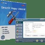 DirectX Happy Uninstall 6.92 Crack Latest Version Free Registration Code