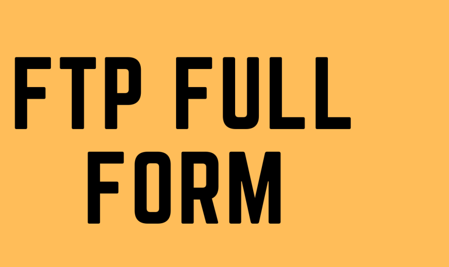 FTP FULL FORM IN HINDI ? FTP KA PURA NAAM