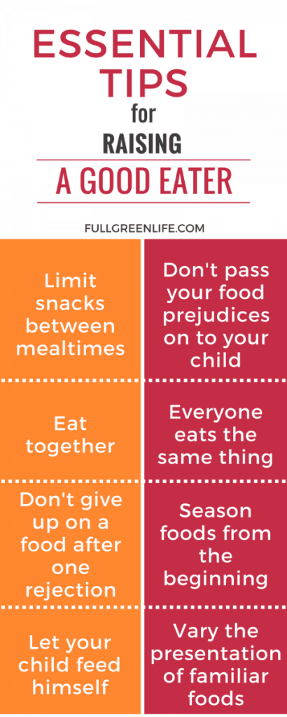 Essential Tips for Raising a Good Eater
