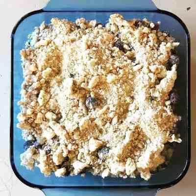 Simple Blueberry Crisp Recipe