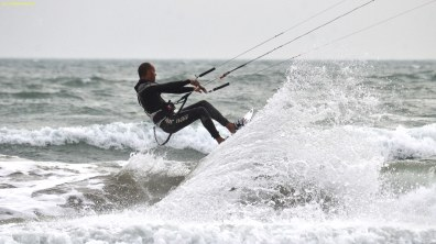 Kitesurfer, France