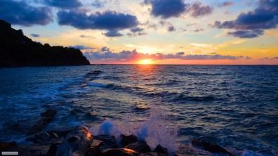 Mediterranian sunset, Italy
