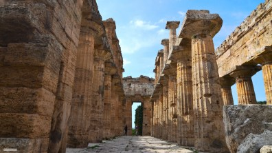 Greek temple, Italy