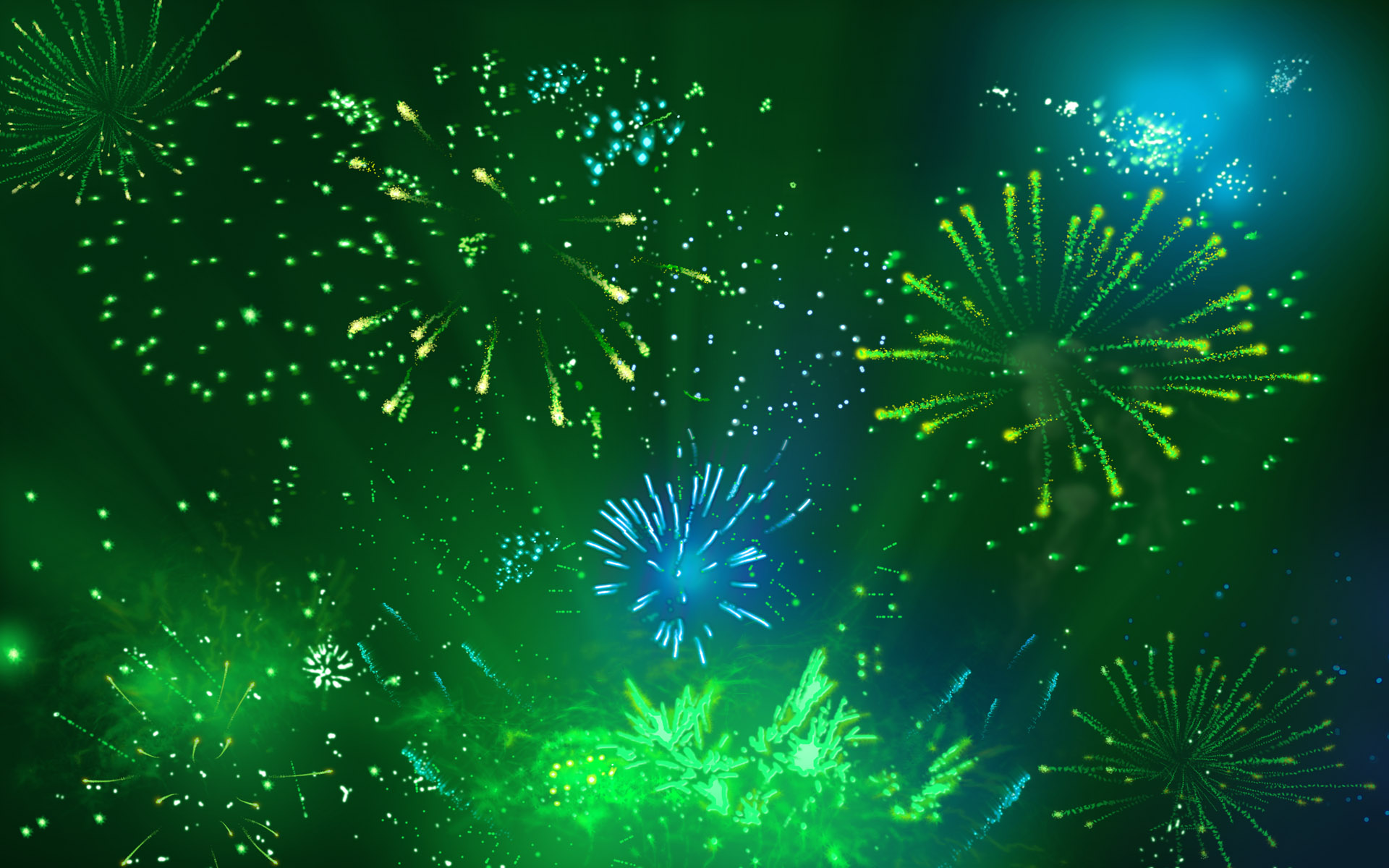 abstract new year wallpapers