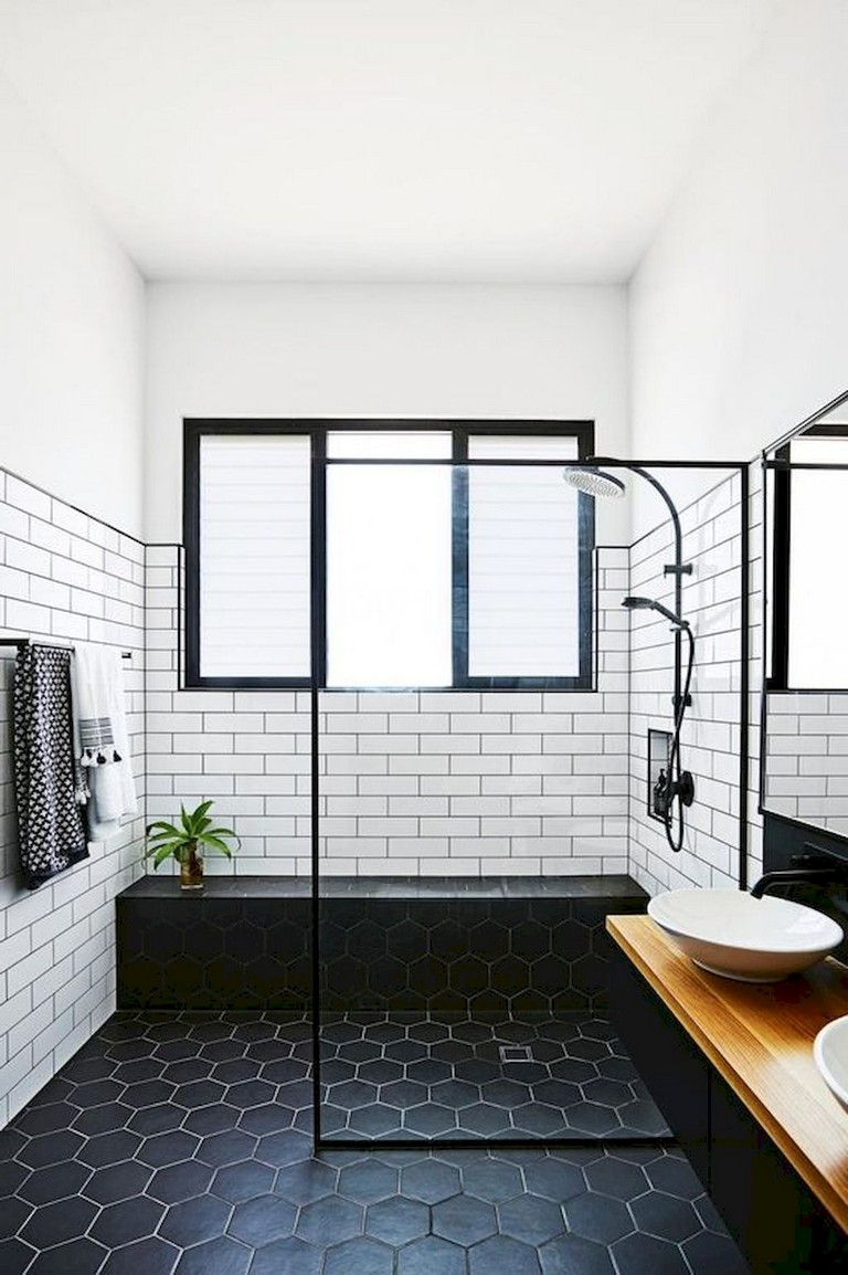 57+ Amazing Small Master Bathroom Tile Makeover Design ... on Amazing Small Bathrooms  id=35063