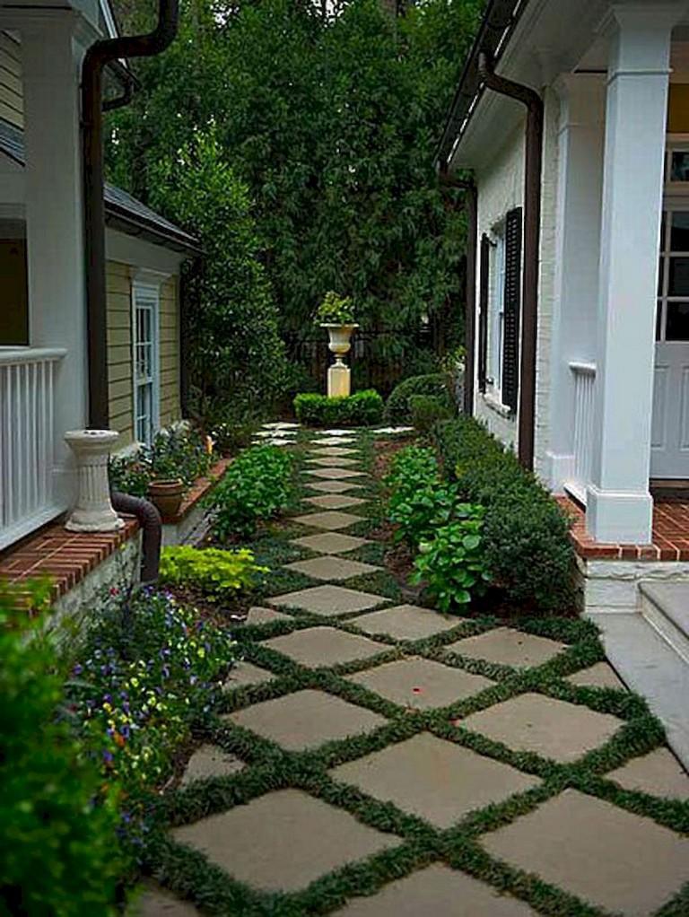 60+ Amazing Small Maintenance Backyard Garden Landscaping ... on Small Outdoor Yard Ideas id=44609