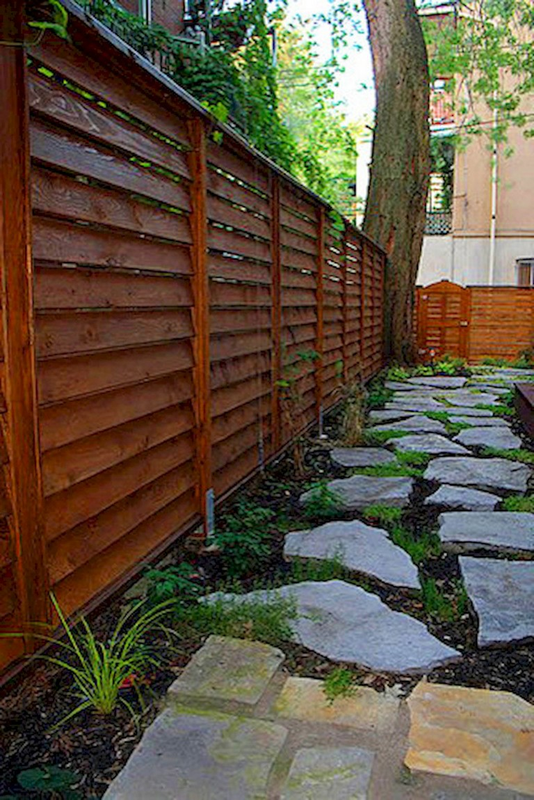 73+ Simple Backyard Privacy Fence Design Ideas - Page 69 of 74 on Backyard Wooden Fence Decorating Ideas id=70421