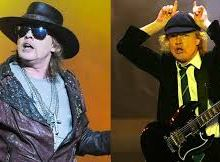 AC/DC's Angus Young Pranks Guns n Roses