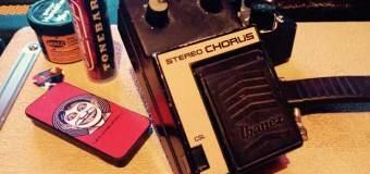 How to Use a Chorus Guitar Pedal, Sound
