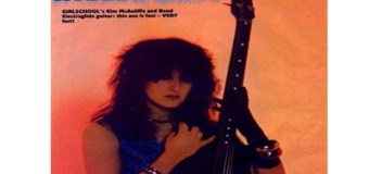 Kim McAuliffe, Girlschool, Bio-Interview,Hit, Play,Race,Screaming