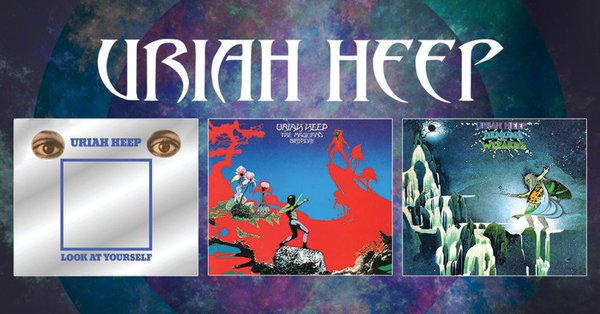 Bmg Reissues Remasters Uriah Heep Classics Full In Bloom