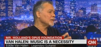 Eddie Van Halen Donates Personal Guitar Collection to Charity