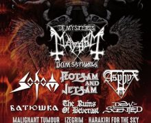 Vienna Metal Meeting – Mayhem, Sodom, Flotsam & Jetsam, Asphyx