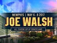 Stay with Joe Walsh at Graceland, 3 Days & 2 Nights – May 6-8 2017