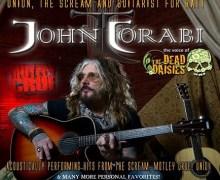 Ex-Motley Crue Vocalist John Corabi Announces 2017 Solo Acoustic Tour Dates