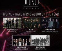 "Annihilator's Jeff Waters, ""the new ANNIHILATOR cd will be one of the best"", Juno Award"