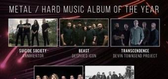"Annihilator's Jeff Waters, ""the new ANNIHILATOR cd will be one of the best"", Juno Award"