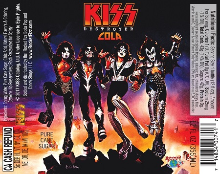 KISS Destroyer Cola - KISS SODA - Where to Buy - Locations