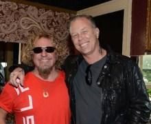 Sammy Hagar & James Hetfield Announce Acoustic 4 a Cure Lineup, SARAH MCLACHLAN, STEVE VAI
