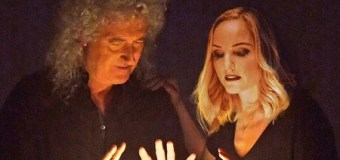 "VIDEO PREMIERE:  Official Video for the Brian May & Kerry Ellis Single, ""Roll with You"""
