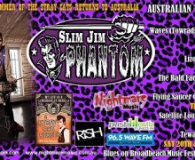 Slim Jim Phantom Trio 2017 Australian Tour Dates – Stray Cats Drummer Slim Jim Phantom