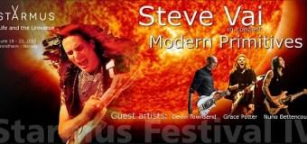 Steve Vai & Nuno Bettencourt to Perform for Stephen Hawking @ 2017 Starmus Festival