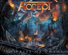 Artwork for Accept's Upcoming Album 'The Rise of Chaos' Revealed + 2017 Japan Tour Dates