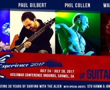 Joe Satriani's G4 Experience 2017 w/ Paul Gilbert, Phil Collen, Warren DeMartini, Stu Hamm