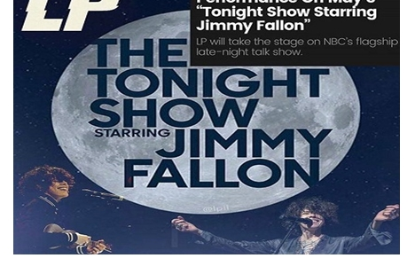 UPDATED:  Watch LP Perform on the Tonight Show Starring Jimmy Fallon