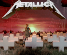 Metallica's Master of Puppets Album Cover Gets 3D VIDEO Recreation, Nirvana's Nevermind, Doors Morrison Hotel