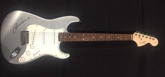 Opportunity:  Guitar Used & Autographed by Todd Rundgren Up for Auction