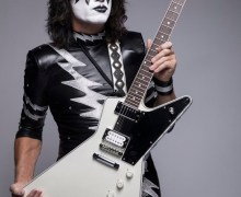KISS Guitarist Tommy Thayer Introduces His Signature Ltd. Ed. White Lightning Explorer
