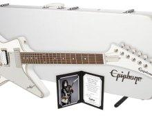 KISS Guitarist Tommy Thayer Introduces His Signature Ltd. Ed. White Lightning Explorer