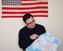 """Damien Jurado Launches His 50 State Tour, """"If you are an artist, a musician, poet, or if you want to host a show, please reach out"""""""