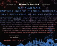 Sound on Sound Fest Lineup Announced – Yeah Yeah Yeahs, Grizzly Bear, Iggy Pop, The Shins to Headline
