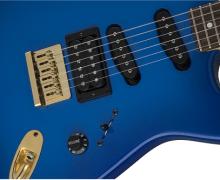 Charvel Announces Ex-Ozzy Guitarist Jake E Lee's USA Signature Blue Burst Guitar