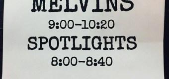 Spotlights Announce New Album 'Seismic' + 2017 Tour Dates w/ Melvins