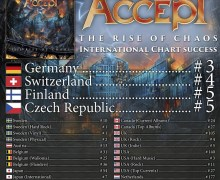 Chart Positions Revealed for Accept's 'The Rise of Chaos'