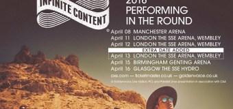 Arcade Fire Announce 3rd London Show @ Wembley – Infinite Content UK Tour