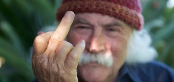 """David Crosby on Ted Nugent, """"the asshole just isn't good enough"""""""