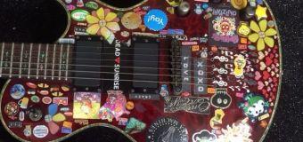 Ginger Wildheart Selling Guitar on Ebay – Chutzpah!