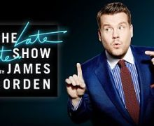 Liam Gallagher on Corden's Late Late Show