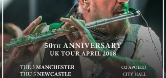 50 years of Jethro Tull 2018 UK Tour Dates