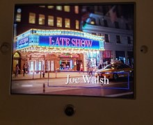 Watch Eagles Guitarist Joe Walsh on 'The Late Show with Stephen Colbert'