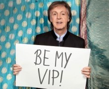 """Opportunity to Meet Paul McCartney, Sit VIP, Sing """"Get Back"""" @ New York Show"""