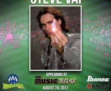 Steve Vai Masterclass by The Music Zoo, Enter to Win a Signed Ibanez RG-421 Guitar